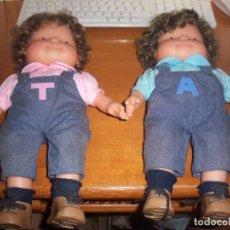Muñecas Lesly y Barriguitas: 2 MUÑECAS DE FAMOSA 5-5-97. . Lote 100627639