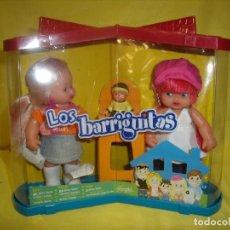 Muñecas Lesly y Barriguitas: BARRIGUITAS FAMILIA, PAREJA DE FAMOSA, AÑO 2007, NUEVO.. Lote 101669871