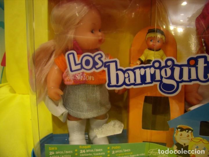 Muñecas Lesly y Barriguitas: Barriguitas Familia, pareja de Famosa, año 2007, Nuevo. - Foto 4 - 101669871