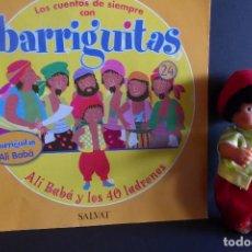 Muñecas Lesly y Barriguitas: BARRIGUITAS CUENTOS - ALÍ BABÁ. Lote 102957383