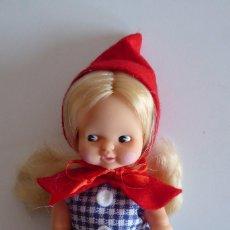 Muñecas Lesly y Barriguitas: BARRIGUITAS CAPERUCITA ROJA. Lote 103602491