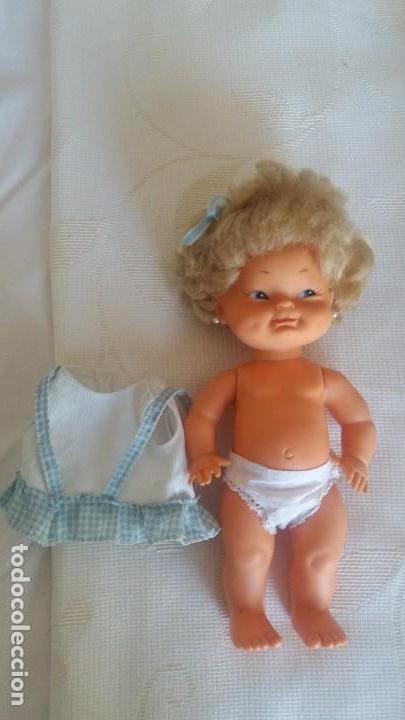 Muñecas Lesly y Barriguitas: Muñeca Tonina de florido - Foto 3 - 152587804