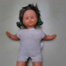 Muñecas Lesly y Barriguitas: MUÑECA DE FAMOSA CON COLETAS - CUERPO DE TRAPO - 44CM. Lote 104705943