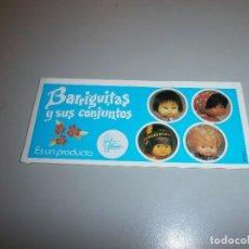 Muñecas Lesly y Barriguitas: CATALOGO ORIGINAL BARRIGUITAS . Lote 105187523