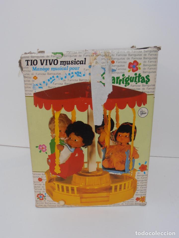 Muñecas Lesly y Barriguitas: TIO VIVO MUSICAL BARRIGUITAS FAMOSA EN CAJA ORIGINAL - Foto 7 - 105206231