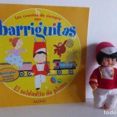 Muñecas Lesly y Barriguitas: BARRIGUITAS CUENTOS - EL SOLDADITO DE PLOMO. Lote 107673191