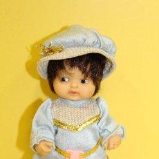 Muñecas Lesly y Barriguitas: BARRIGUITAS PRINCIPE AZUL DE FAMOSA - AÑOS 80. Lote 112268595