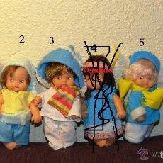 Muñecas Lesly y Barriguitas: BARRIGUITAS DE FAMOSA.VENTA LOTE DE 5 BARRIGUITAS DE FAMOSA. Lote 45649190