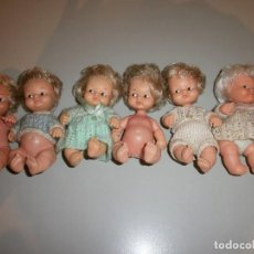 Muñecas Lesly y Barriguitas: LOTE DE BARRIGUITAS ANTIGUAS AÑOS 70. Lote 115008059