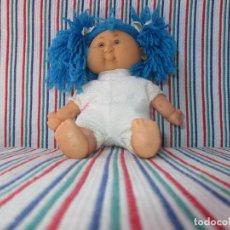 Lesly and Barriguitas dolls - BB, MUÑECA TRAPO PELO LANA - 117578491