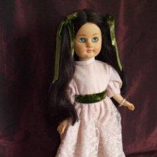 Muñecas Lesly y Barriguitas: ANTIGUA MUÑECA REVIVAL FAMOSA. RECUERDA A LAS MUÑECAS ALEMANAS. PELAZO. OJOS AZULES MARGARITA. Lote 62111148