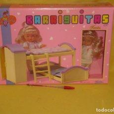 Muñecas Lesly y Barriguitas: BARRIGUITAS NATI, DORMITORIO DE NATI, REF 83317, AÑO 1990, NUEVO SIN ABRIR.. Lote 123570715