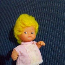 Muñecas Lesly y Barriguitas: BARRIGUITAS PELO AMARILLO LIMON. Lote 125116279