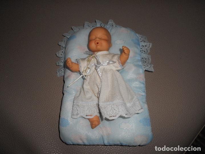Muñecas Lesly y Barriguitas: Barriguitas con chupete y cama original años 70 80 - Foto 2 - 153754004