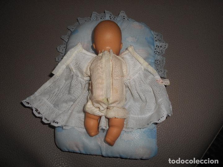 Muñecas Lesly y Barriguitas: Barriguitas con chupete y cama original años 70 80 - Foto 3 - 153754004