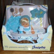 Muñecas Lesly y Barriguitas: MUÑECA BARRIGUITAS DE SIEMPRE - FAMOSA - MI PRIMERA CANASTILLA. Lote 126061807