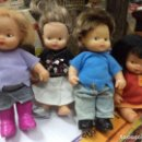 Muñecas Lesly y Barriguitas: LOTE DE 4 BARRIGUITAS ORIGINALES DE FAMOSA.Nº 97 EN CABEZA.. Lote 126249855