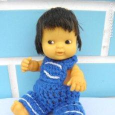 Muñecas Lesly y Barriguitas: MUÑECO ANTIGUO BARRIGUITAS INDIO DE FAMOSA. Lote 126909503