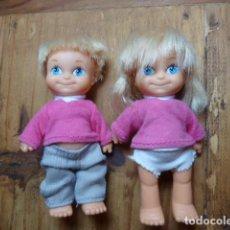 Muñecas Lesly y Barriguitas: LOTE BARRIGUITAS NEW. NIÑO Y NIÑA. FAMOSA. Lote 130879928