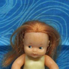 Muñecas Lesly y Barriguitas: BARRIGUITAS CON MELENA PELIRROJA DESNUDA. Lote 131180196