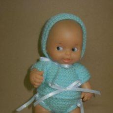 Muñecas Lesly y Barriguitas: TRAJE PARA BARRIGUITAS VERDE PÁLIDO PRECIOSO *NUEVO A ESTRENAR*. Lote 131196904