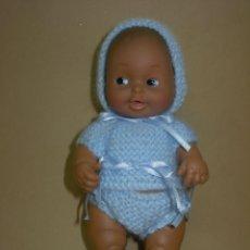 Muñecas Lesly y Barriguitas: TRAJE PARA BARRIGUITAS AZUL PRECIOSO *NUEVO A ESTRENAR*. Lote 131199364