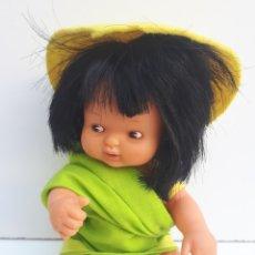 Muñecas Lesly y Barriguitas: BARRIGUITAS DEL MUNDO - ASIA. Lote 131717558