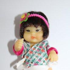Muñecas Lesly y Barriguitas: BARRIGUITAS ORIENTAL O CHINITO DE FAMOSA - MARCADO 57 - AÑOS 70. Lote 132396458