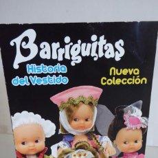 Muñecas Lesly y Barriguitas: CATÁLOGO DE BARRIGUITAS HISTORIA DEL VESTIDO. Lote 154412949