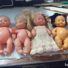 Muñecas Lesly y Barriguitas: LOTE 4 MUÑECAS BARRIGUITAS CUATRO BARRIGUITAS. Lote 92391120