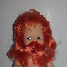Muñecas Lesly y Barriguitas: MUÑECA BARRIGUITAS NEPTUNO BARBA NARANJA DE FAMOSA. Lote 135730031