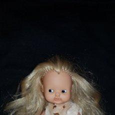 Muñecas Lesly y Barriguitas: BARRIGUITAS DE FAMOSA AÑOS 80 VESTIDO ORIGINAL. Lote 136284722
