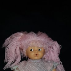Muñecas Lesly y Barriguitas: BARRIGUITAS DE FAMOSA PELO LANA CON MECANISMO. Lote 136304910