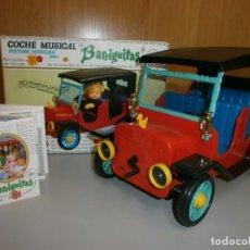 Muñecas Lesly y Barriguitas: COCHE MUSICAL BARRIGUITAS ORIGINAL AÑOS 70 O 80 EN CAJA NUEVO A ESTRENAR . Lote 137140414