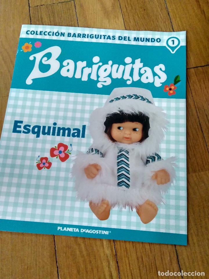 Muñecas Lesly y Barriguitas: REEDICION BARRIGUITAS ESQUIMAL EN CAJA ORIGINAL CON FASCICULO - Foto 2 - 141450205