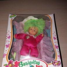 Muñecas Lesly y Barriguitas: BARRIGUITAS COLOR - CON SU CUNA - NUEVO¡¡. Lote 139131900