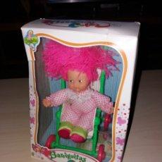 Muñecas Lesly y Barriguitas: BARRIGUITAS COLOR - CON SU COCHECITO - NUEVO¡¡. Lote 139131952