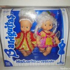 Muñecas Lesly y Barriguitas: BARRIGUITAS – HISTORIA DEL VESTIDO SIGLO XVIII/HISTORY OF THE DRESS,18TH CENTURY. Lote 141253394