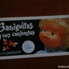 Muñecas Lesly y Barriguitas: LOTE DE 2 MINICATÁLOGOS BARRIGUITAS - AÑOS 70. Lote 141324666