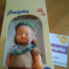 Muñecas Lesly y Barriguitas: BARRIGUITAS APACHE REEDICION Y FASCICULO. Lote 141964318