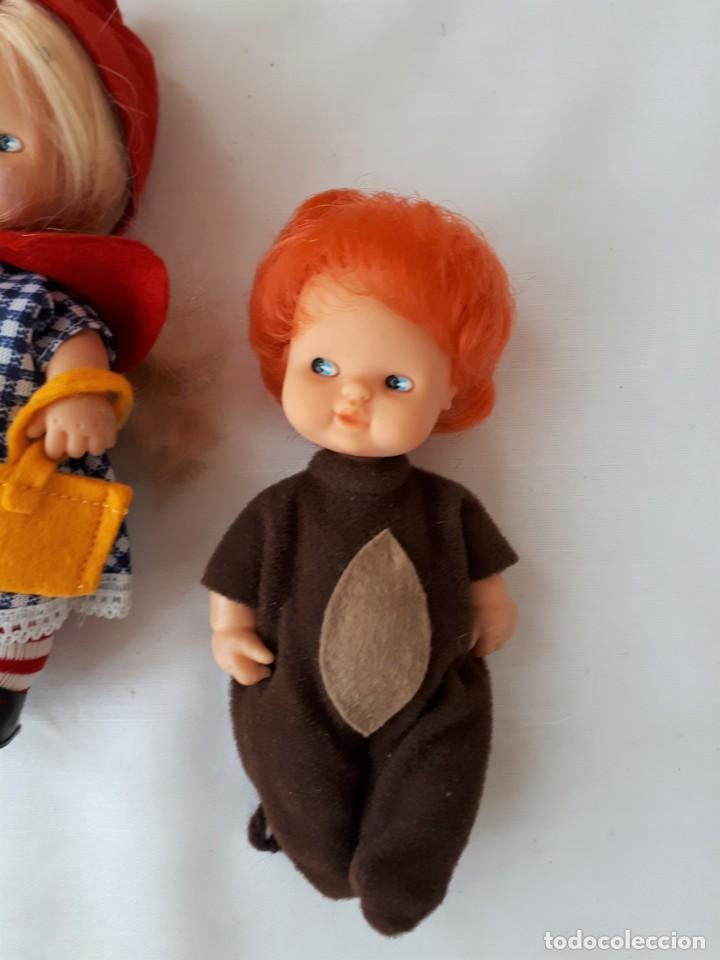 Muñecas Lesly y Barriguitas: BARRIGUITAS CAPERUCITA ABUELITA Y EL LOBO - Foto 3 - 142717534