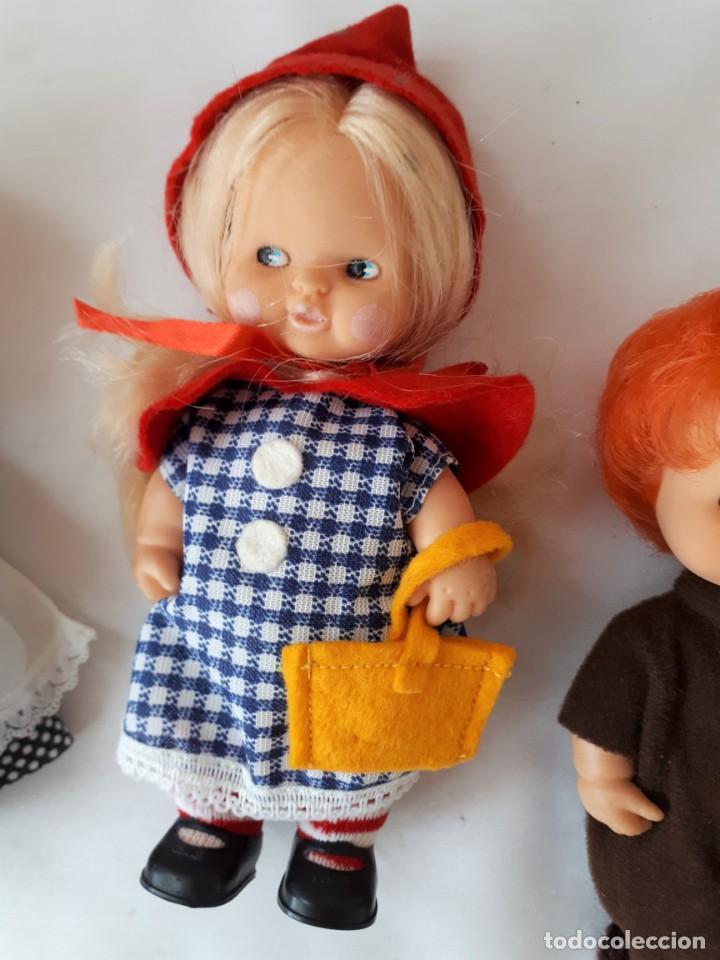 Muñecas Lesly y Barriguitas: BARRIGUITAS CAPERUCITA ABUELITA Y EL LOBO - Foto 4 - 142717534