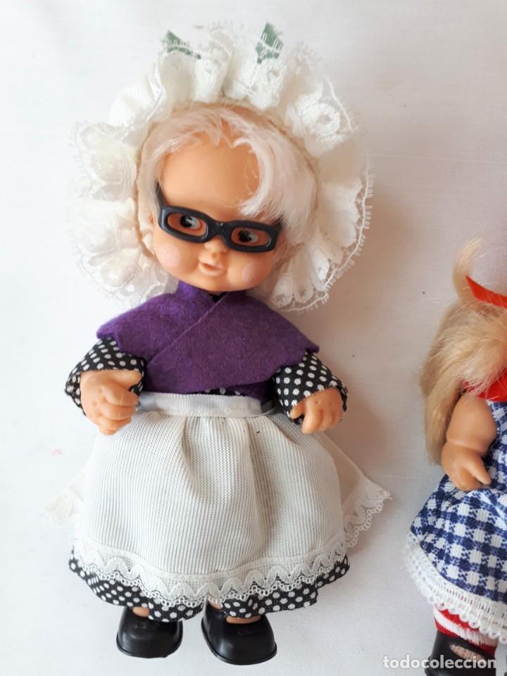 Muñecas Lesly y Barriguitas: BARRIGUITAS CAPERUCITA ABUELITA Y EL LOBO - Foto 5 - 142717534