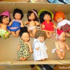 Muñecas Lesly y Barriguitas: LOTE DE 8 BARRIGUITAS. Lote 143299018