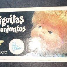 Muñecas Lesly y Barriguitas: CATALOGO BARRIGUITAS Y SUS CONJUNTOS - FAMOSA - AÑO 79 - COLOR NEGRO. Lote 143454630