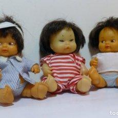 Muñecas Lesly y Barriguitas: 3 ANTIGUAS BARRIGUITAS DE FAMOSA LOTE - B. Lote 143553462