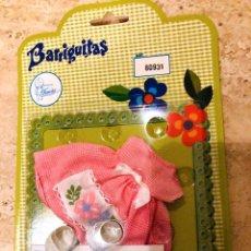 Muñecas Lesly y Barriguitas: VESTIDO BARRIGUITAS NUEVO A ESTRENAR. Lote 143938130