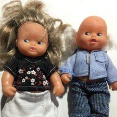 Muñecas Lesly y Barriguitas: ABUELO Y ABUELA DE LOS BARRIGUITAS DE MUÑECAS FAMOSA. Lote 145102362