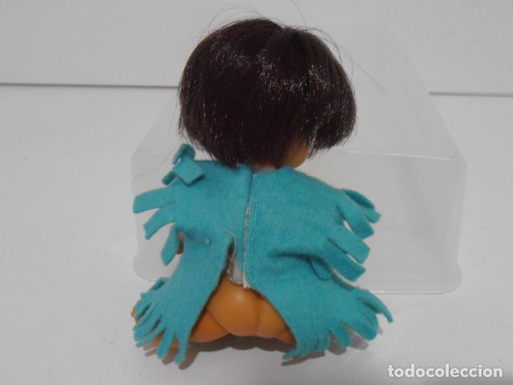 Muñecas Lesly y Barriguitas: MUÑECA BARRIGUITAS, INDIO CON VESTIDO AZUL, ORIGINAL FAMOSA - Foto 3 - 145258222