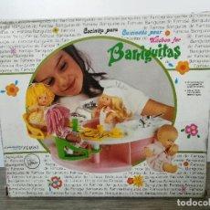 Muñecas Lesly y Barriguitas: COCINA BARRIGUITAS - FAMOSA - EL GRIFO ESTA DESPEGADO - CONTIENE ACCESORIOS DOS PLATOS Y DOS VASOS D. Lote 146663654